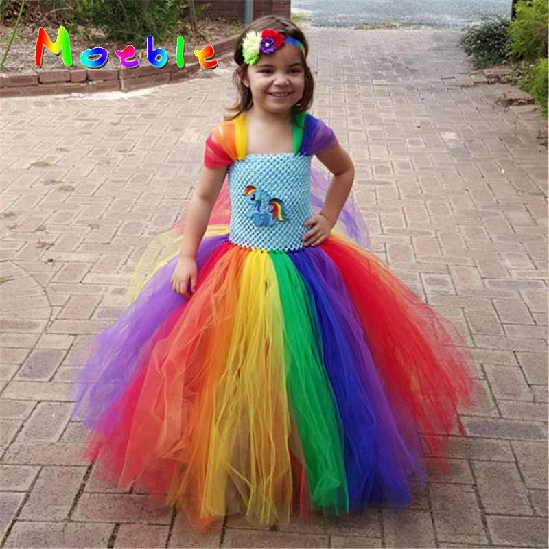 Children Girl Rainbow