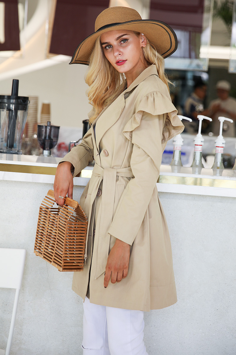casual trench coat womens