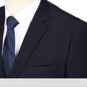 Dark Blue Men Suit