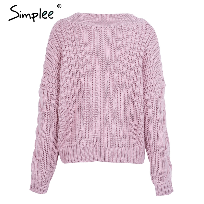 women's knit pullover
