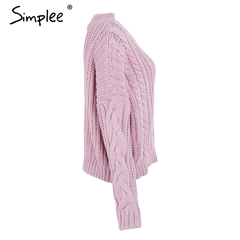 women's knit pullover sweater