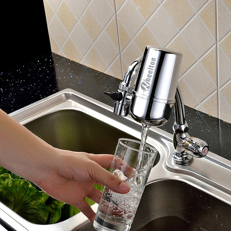 Faucet water ioniser