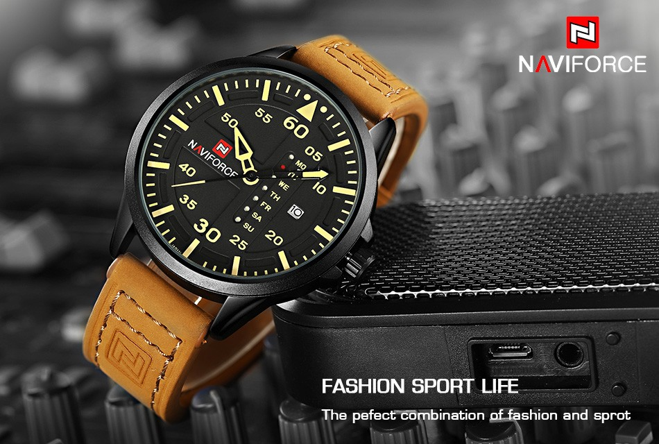 Men's Luxury Military Watch