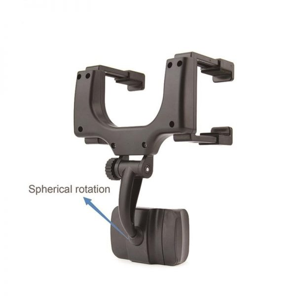 rear view phone holder