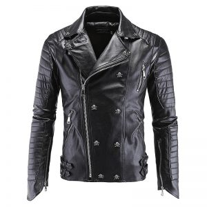 Men's Skull Leather Jackets