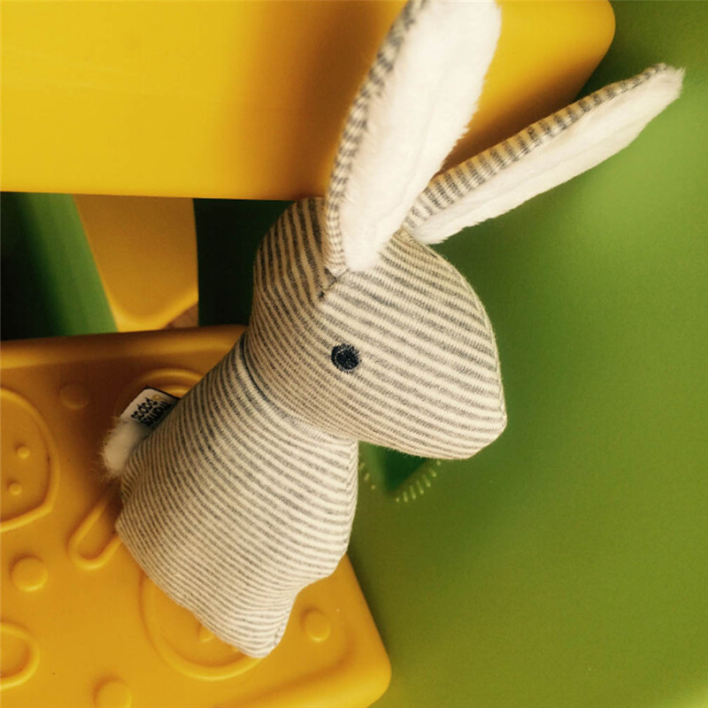 Baby Rattle Toys Animal Cute Rabbit Hand Bells Plush Baby Toy With BB Sound Toy Gift Christmas Plush Doll JK881651 1