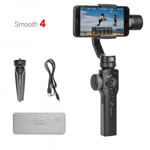 Zhiyun Smooth 4 3-Axis Handheld Smartphone Gimbal Stabilizer VS Zhiyun Smooth Q Model for iPhone X 8Plus 8 7 6S Samsung S9 S8 S7 1