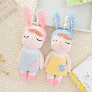 Mini Kawaii Plush Stuffed Animal Cartoon Kids Toys for Girls Children Baby Birthday Christmas Gift Angela Rabbit Metoo Doll 1