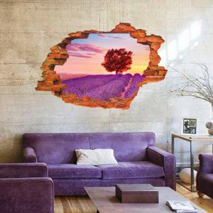 lavender country 3D