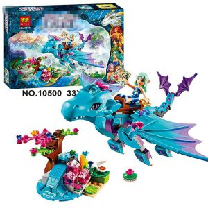 Quality 214pcs/set Bela 10500 The Water Dragon Adventure Building Bricks Blocks DIY toys Compatible Legoe Elves Christmas gifts 1
