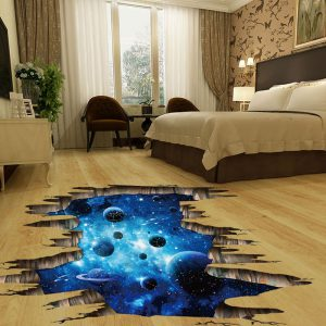 3D Galaxy Wall Stickers