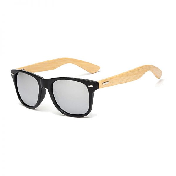 BOYSEEN Retro Wood Sunglasses Men Bamboo Sunglass Women Brand Design Sport Goggles Gold Mirror Sun Glasses Shades lunette oculo 3