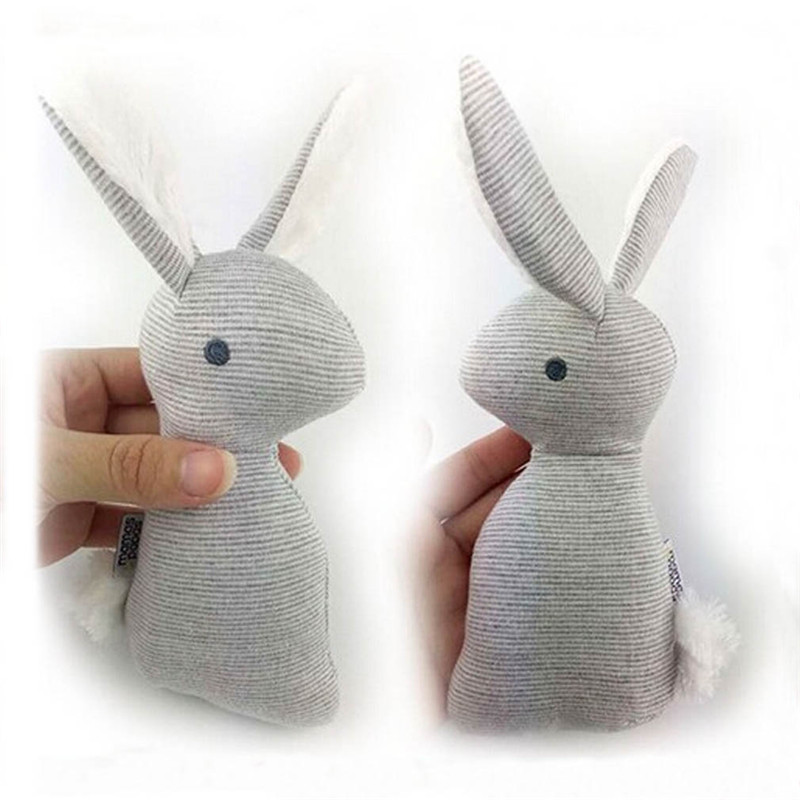 Baby Rattle Toys Animal Cute Rabbit Hand Bells Plush Baby Toy With BB Sound Toy Gift Christmas Plush Doll JK881651 2