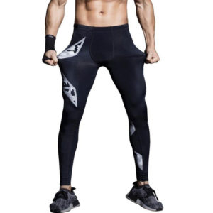 mens gym compression pants