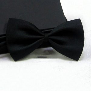 Children Bowtie Gentleman Boy's Solid Color Bow Ties Fashion Bowknot Kid Clothing Accessories Cravat 1