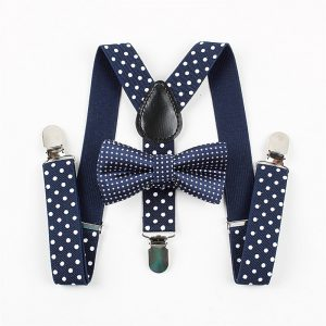 Polka Dot Suspenders Sets