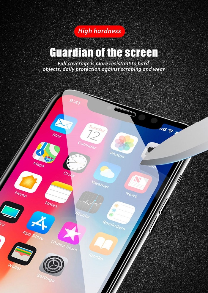 6d tempered glass for iphone 6