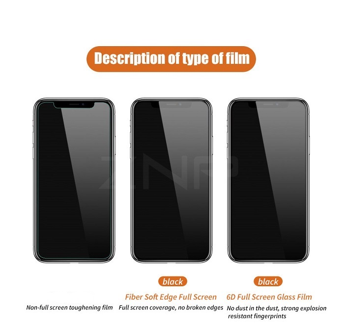 6d screen protector iphone