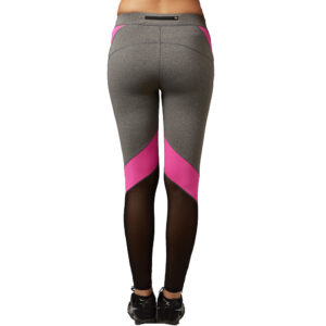 B.BANG Women Yoga Pants Hollow Out Net Yarn Splicing Yoga Capris for Running Sport Quick-drying Fitness Tights Woman Leggings 1