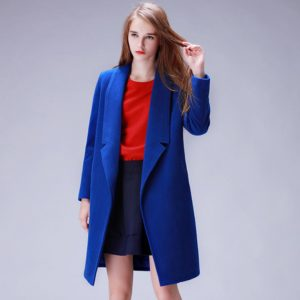YuooMuoo Brand Design Winter Coat Women Warm Cotton-padded Wool Coat Long Women's Cashmere Coat European Fashion Jacket Outwear 1