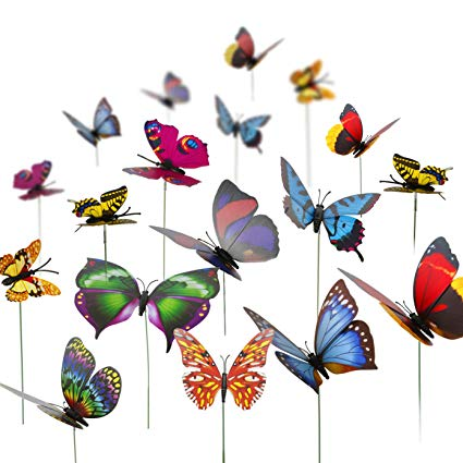 butterfly stakes garden for sales