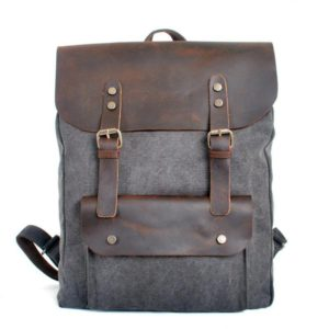 best leather backpack men