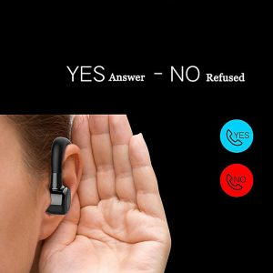 DAONO V9 Handsfree Bluetooth Headset Earphone Wireless Voice Control Sports Music Bluetooth Headphones Noise Cancelling Headset 1