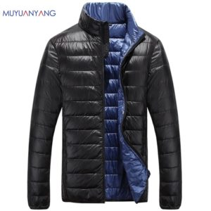 Casual Ultralight Mens Duck Down Jackets Autumn & Winter Jacket Men Lightweight Duck Down Jacket Men Overcoats 1