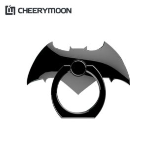 CHEERYMOON Bat Series Metal Universal Mobile Phone Ring Smartphone Tablet Phone Holder Finger Grip Stand For iPhone 8 X Samsung 1