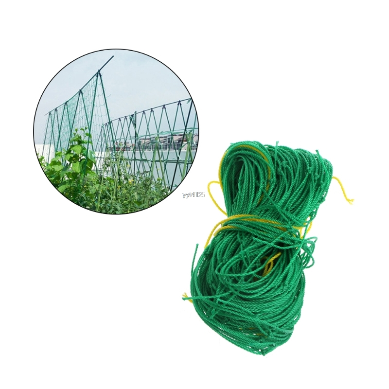 Nylon Trellis Netting Green Nylon Trellis For Garden Netting Support