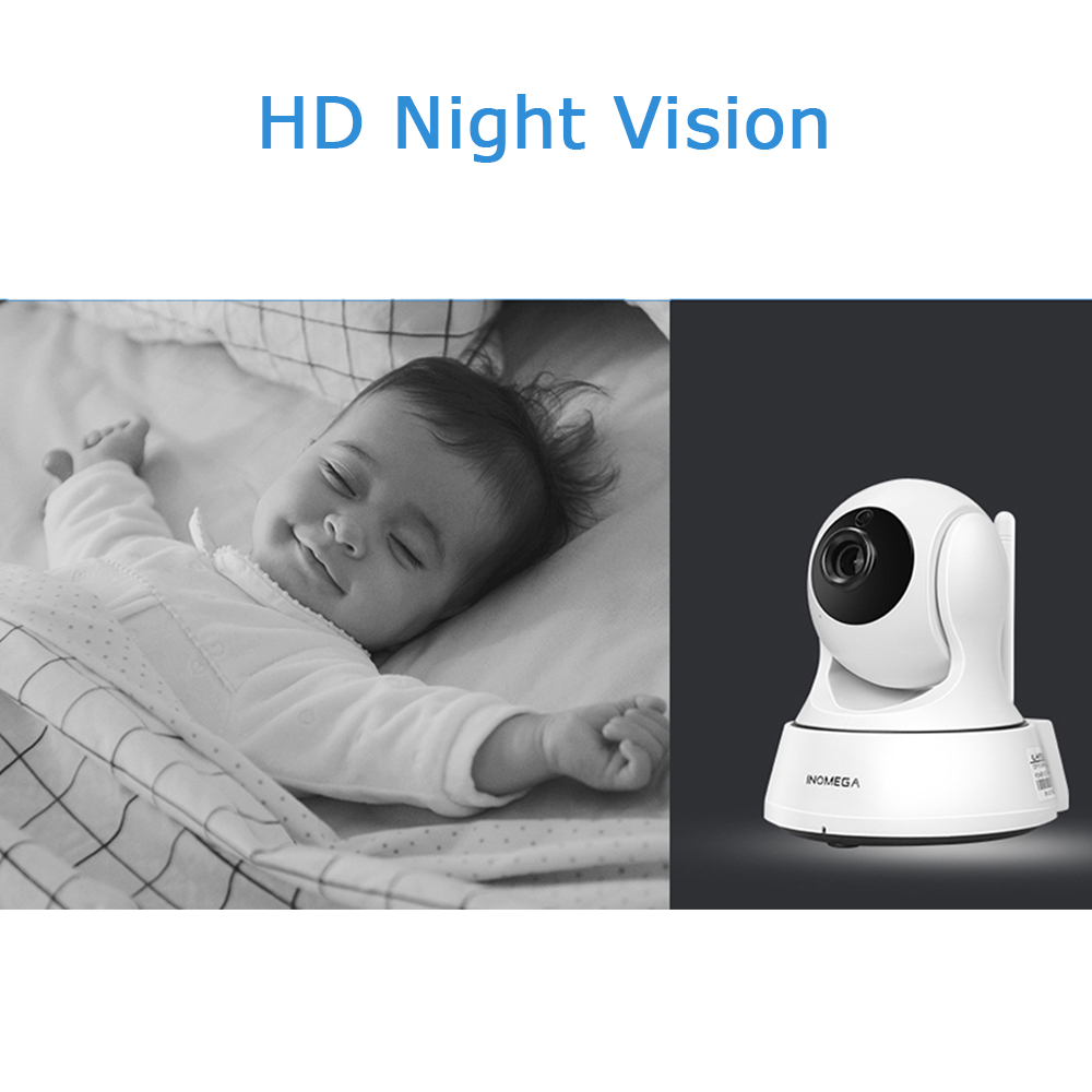 INQMEGA 720P Cloud Storage IP Camera WiFi cam Home Security Surveillance CCTV Network Camera Night Vision Pan Tilt Baby Monitor 2