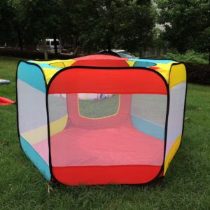 Play House Indoor and Outdoor Easy Folding Ocean Ball Pool Pit Game Tent Play Hut Girls Garden Playhouse Kids Children Toy Tent 1