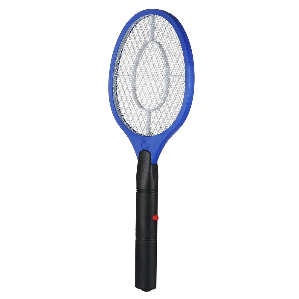 2 AA batteries Operated Hand Racket Electric Mosquito Swatter Insect Home Garden Pest Bug Fly Mosquito Zapper Swatter Killer 2