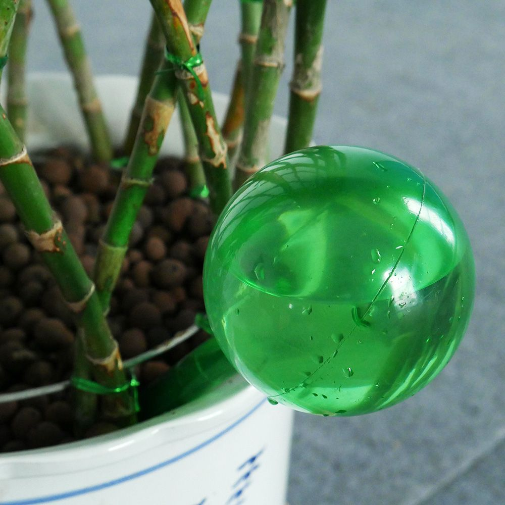 Practical PVC Travel House Plant Bulb Shape Waterer Globes Irrigation Patio Lawn Garden Pot Cans Automatic Self Watering 2