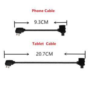 Remote Control Data Cable Connecting Phone Tablet Connector Line Nylon Line For DJI Mavic Pro / AIR Drone Accessories 1