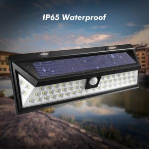 waterproof outdoor solar lamp