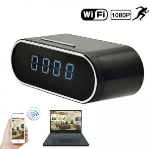 best clock security camera