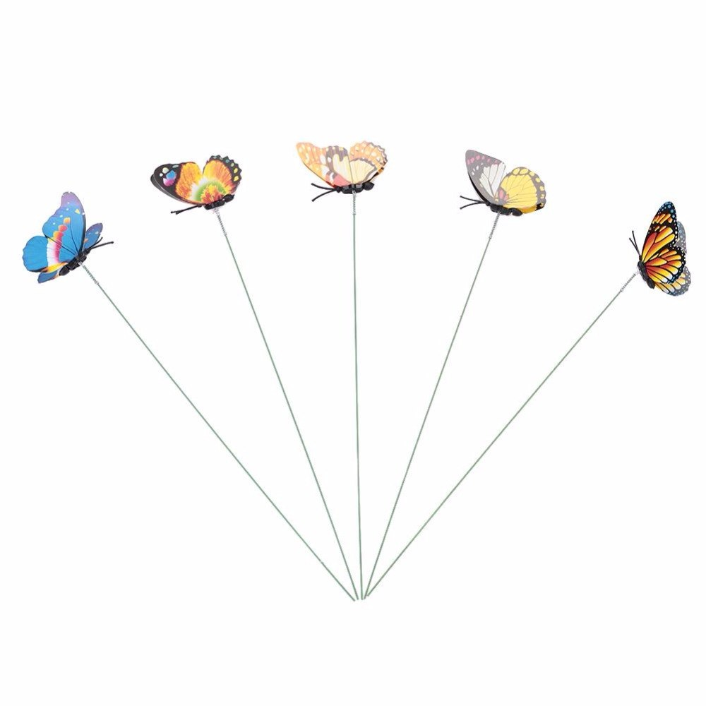 butterfly stakes ornament