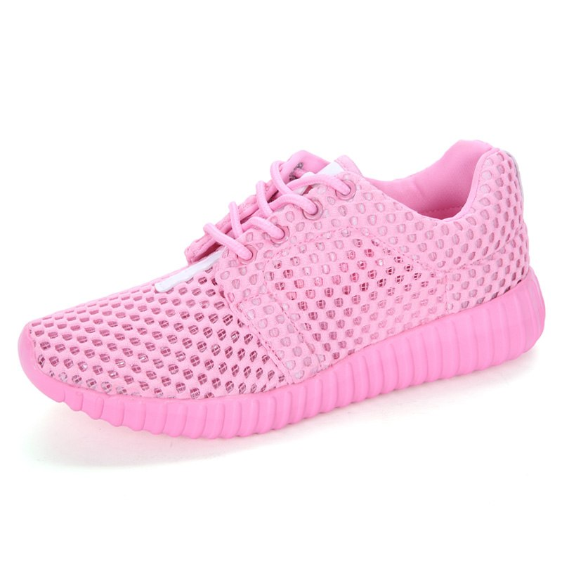 2017 Spring/Summer Nice Sport Shoes For Women Lightweight Mesh Running Sneakers Women Luxury Black Pink Walking Jogging Sneakers 2