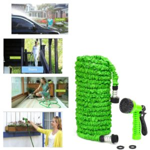 25-200FT Expandable Magic Flexible Garden Hose For Car Water Pipe Plastic Hoses To Watering With Spray Gun Garden Watering Cool 1