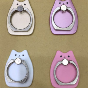 totoro finger ring phone case