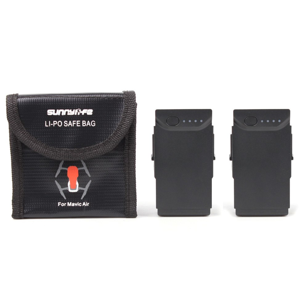 For DJI MAVIC AIR Battery Bag Case Battery Protective Case Storage Bag LiPo Explosion-proof Safe Bag for dji mavic air Accessory 3