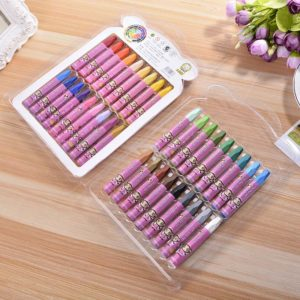 12/18/24/36 Colors Top Level Oil Pastel Chalks Kids Crayons Art Pen Pastel Cheap Drawing Painting Toy Set for Children 1