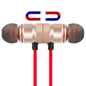 Sports Bluetooth Headphones Metal Magnetic Headsets Stereo Music Earbuds with Mic for Mobile Phone Wireless Bluetooth Earphones 1
