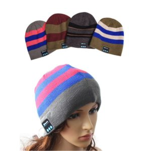 Wireless Bluetooth headphones Music hat Smart Caps Headset earphone Warm Beanies winter Hat with Speaker Mic for sports 1