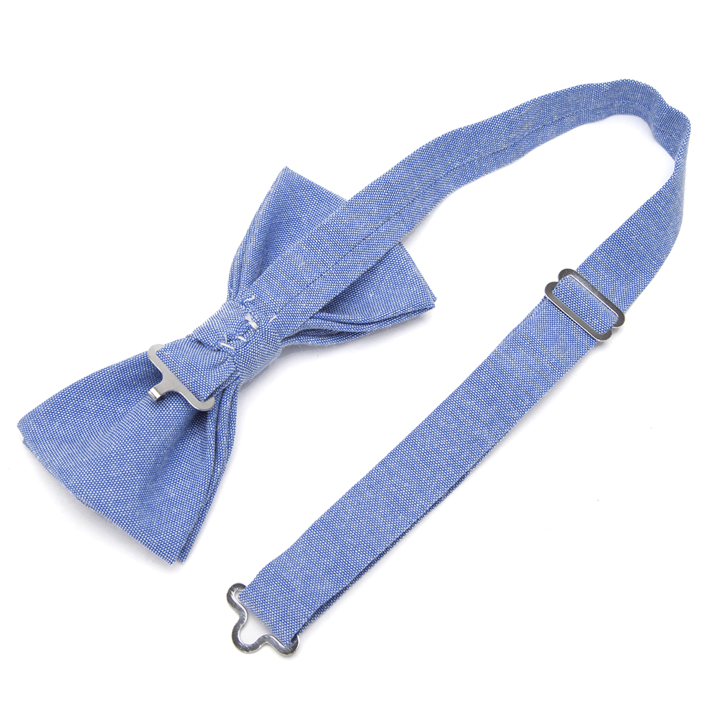 Bowtie 100% Cotton plain dyed Solid Bow Tie Party Accessories Gift Men Adjustable Formal wedding Butterfly Necktie 3