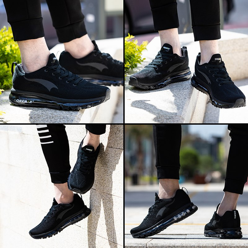 ONEMIX 2018 men running shoes light women sneakers soft breathable mesh Deodorant insole outdoor athletic walking jogging shoes 5