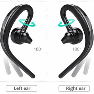 Fineborn Bluetooth headset earphone for phone wireless sweatproof sports bluetooth headphone with mic voice control with earbud 1
