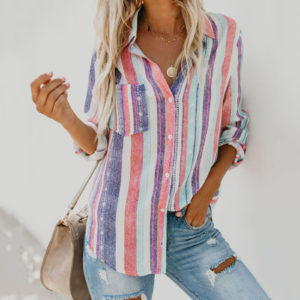 rainbow colours shirt