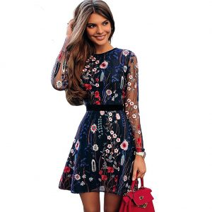 embroidered dresses for sale